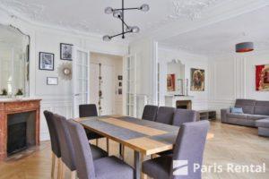 Trocadéro精装修三室一厅公寓